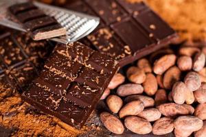 productos de chocolate. foto