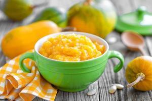 Pumpkin porridge photo