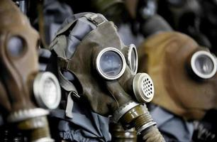 Old gas mask photo