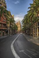 deserted city streets
