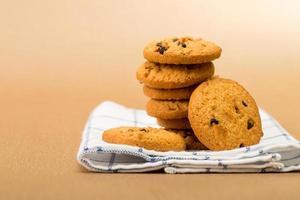 pila de galletas dulce desierto foto