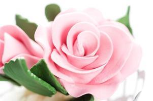 Fondant rose photo