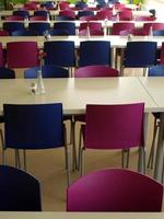 Furniture of modern canteen