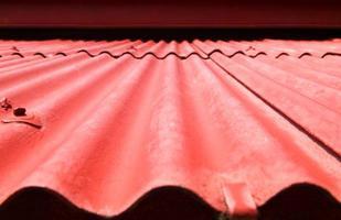 telhado de telha bonita textura de fundo.