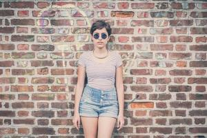young hipster woman