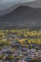 View of Leh city photo