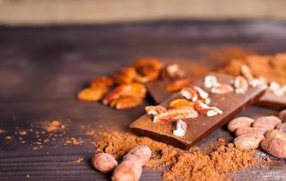 productos de chocolate.