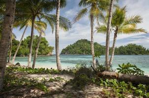 isla potil, indonesia foto