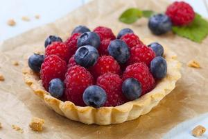 Tartlets with forest fruit