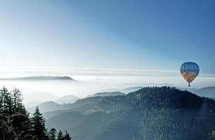 Autumn fog in the Black Forest