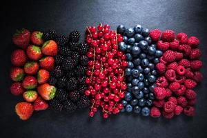 All berries fresh, from farm or forest