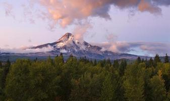 Mt Hood in the Morning photo