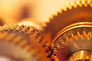 golden gear wheels photo