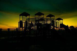 Stock Photo - Playground at twilight