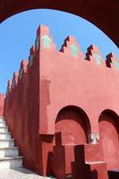 capri - casa roja (casa rossa) foto