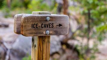cuevas de hielo foto