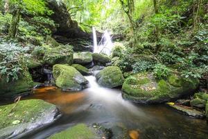 Mun Daeng Waterfall, Phu Hin Rong Kla National Park, Thailand photo