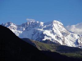 Alpes en Suiza foto