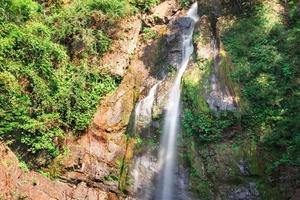 Deep forest Waterfall in Phang Nga, South of Thailand