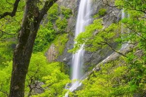 Klong Lan waterfall, National park in Northern of Thailand
