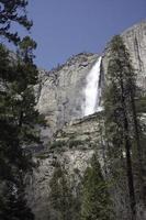 Yosemite waterfall photo