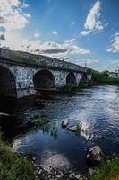 Old bridge in Ireland photo