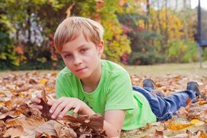 Boy ang garden photo