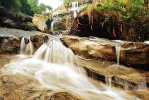 Cascada de mae klang en chiangmai, tailandia