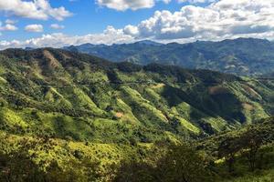 paisaje en luang prabang, laos foto