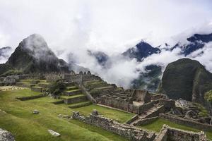 machu picchu, perú - 31 de mayo de 2015 foto