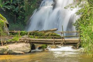 Pa Dok Seaw waterfall, Inthanon mountain photo