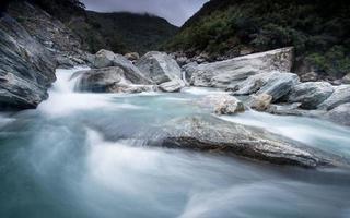 Landscape of South island, New Zealand