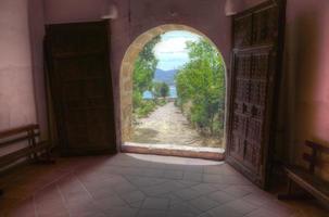 entrada al santuario madronal foto