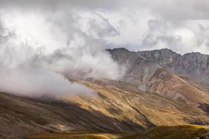 Beautiful landscapes with high mountains of Turkey photo