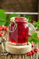 Wild strawberry jam. photo