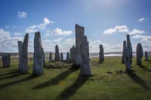 Piedras de Callanish, Isla de Lewis, Hébridas, Escocia foto