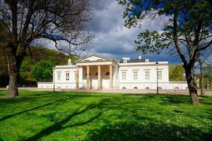Ethnographical Museum in the Prague park