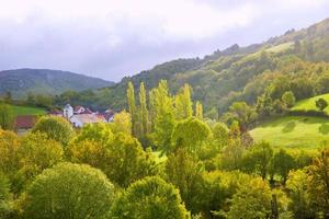 Aribe on Azcoa Valley of Pyrenees in Navarra Spain