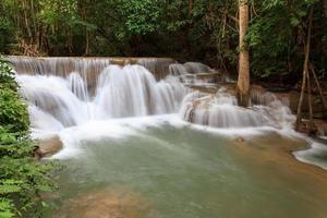 Huay Mae Kamin Waterfall photo