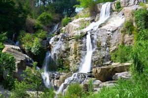 Mae Klang waterfall in doi-inthanon, Chiangmai