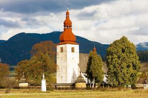 iglesia fortificada foto
