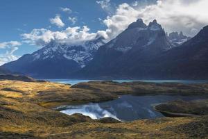 parco nazionale torres del paine, patagonia, cile