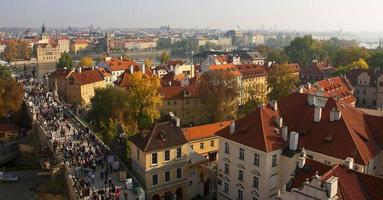 Prague. Red roofs