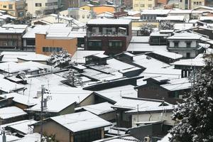 View of the city takayama  Japan