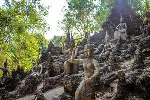 Magic garden in Koh Samui photo