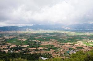 meseta de lasithi en la isla de creta en grecia. foto