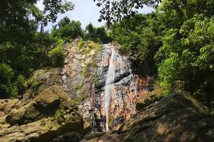 la hermosa cascada