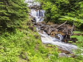 Scenic Sable Falls in Munising Michigan photo