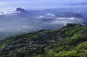 Mountain views photo