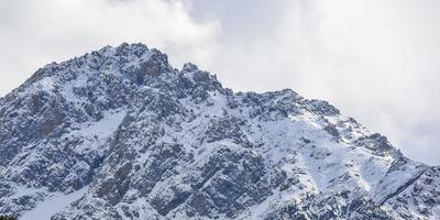 montaña de nieve